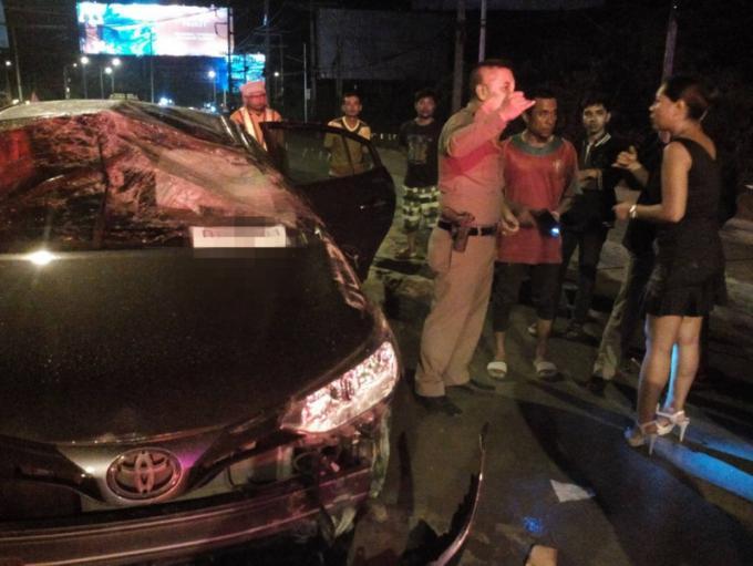 Une expat philippine sain et sauf après un accident à l'embranchement de l'aéroport