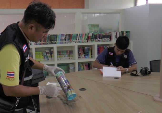 Vol de tablettes informatiques de l'école de Phuket