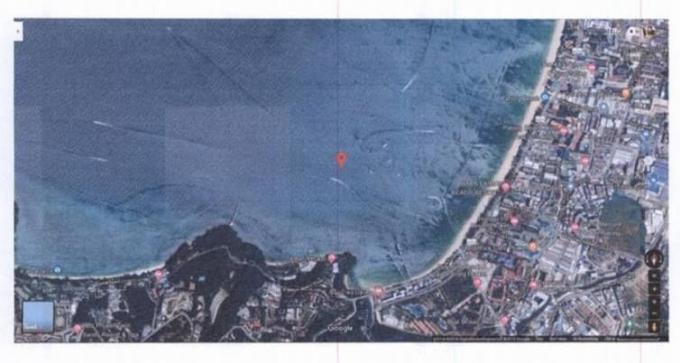 L'activité nautique interdite autour des restes du yacht calcinés au large de Patong