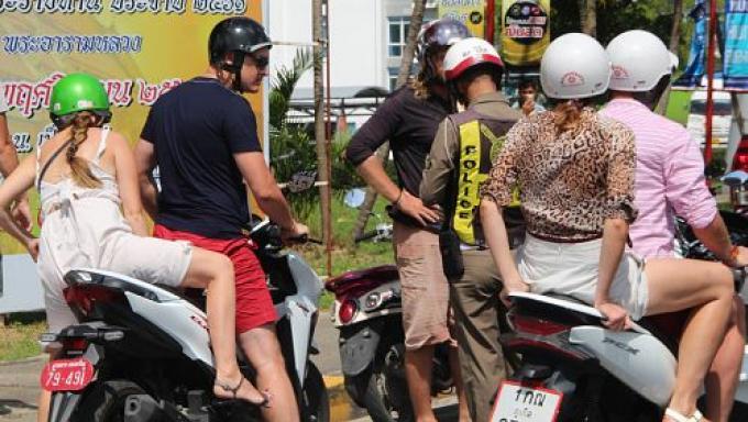 La Police Touristique cible les loueurs de deux roues