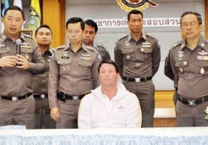 Un américain fugitif à la fraude arrêté à Phuket