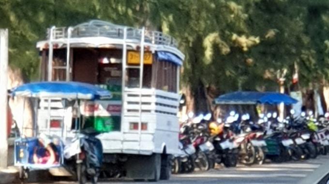 Arrêté en faisant le plein de speedboats à Rawai Beach, le ravitaillement continue 'incognito�