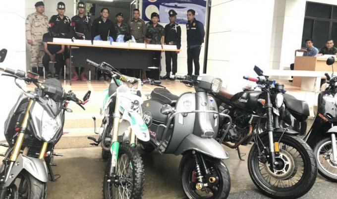10 suspects arrêtés avec de la meth, yah ice et yah ba