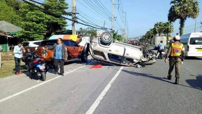Taxi de l'aéroport de Phuket responsable d'un accident fatal, rien de nouveau