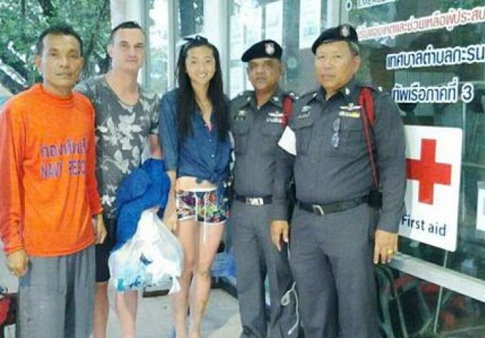 Deux Russes secourus au large de Phuket