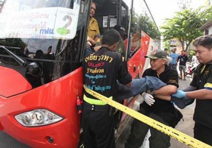 Le chauffeur de Bus qui a tué un passager se rend