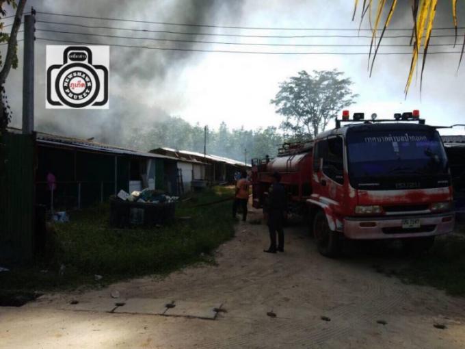 Un deuxième camp de travailleurs détruit par le feu quelques heures après le premier