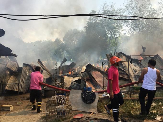 Les officiels de Phuket mettent en garde contre les risques d'incendie