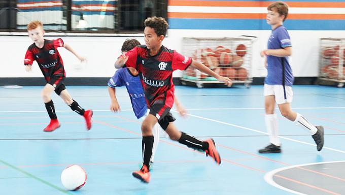 Cruzeiro Soccer Schools en tête de la ligue de futsal