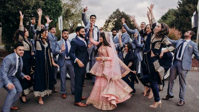 Splash Beach Resort Phuket célèbre le plus grand 'mariage indien' de Thaïlande