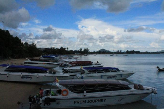 Alerte météo à Phuket