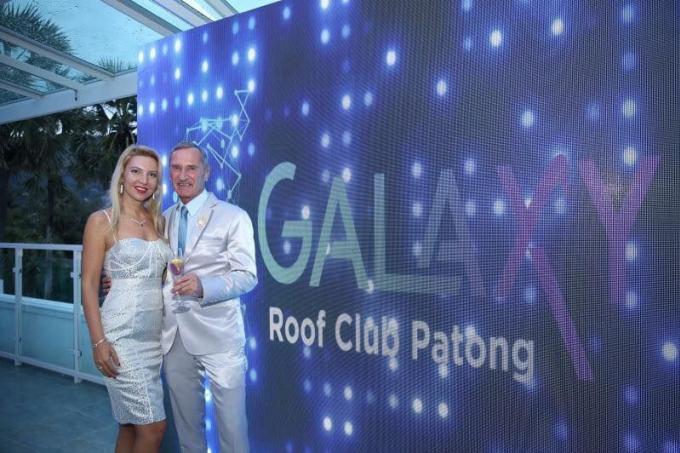 Ouverture à Patong du nouveau Galaxy Roof Club