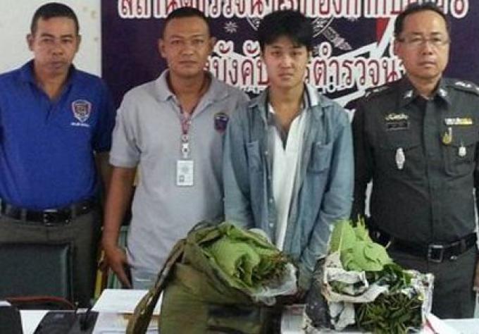 Un homme arrêté après avoir été cherché du kratom au bureau de poste de Phuket