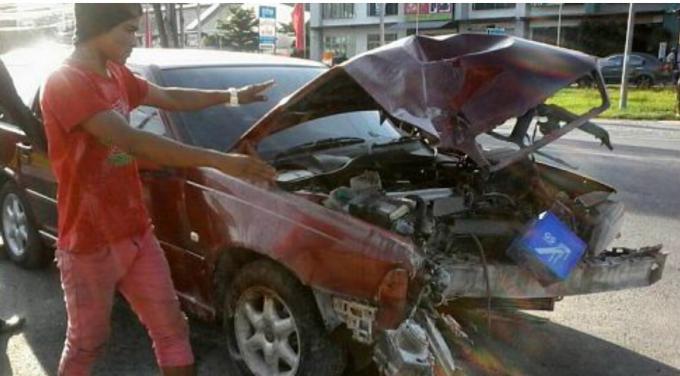 Le conducteur de l accident de la Volvo est allé au poste de police