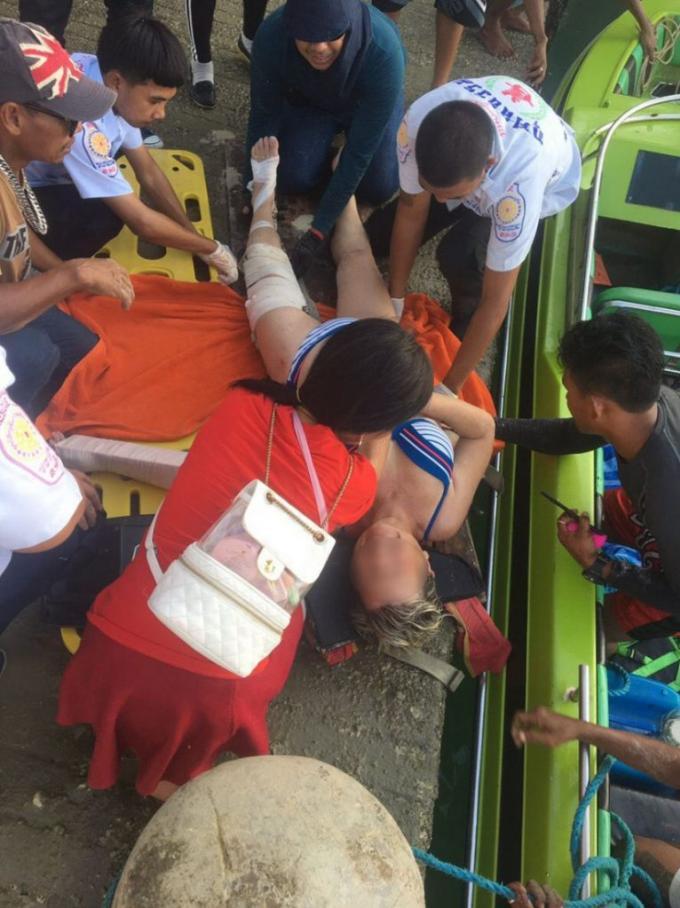 Une touriste française hospitalisée après un accident de parachute ascensionnel