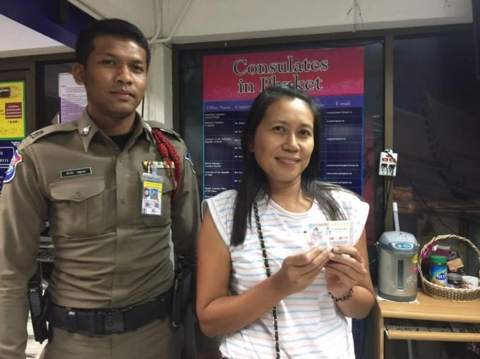 Une femme de Chumphon travaillant à Phuket gagne le premier prix de la loterie