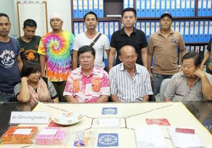 Quatre joueurs de Phuket arrêtés dans la forêt de Thalang