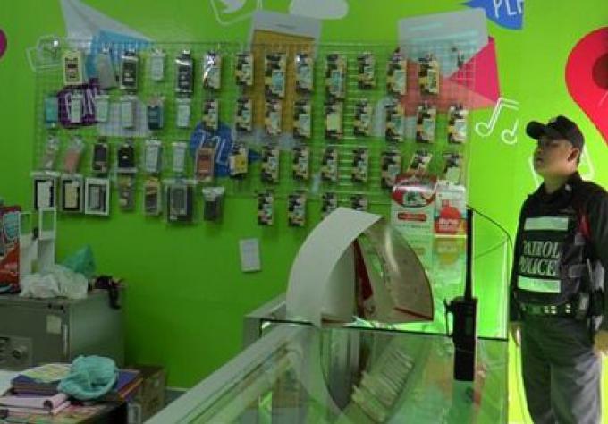 Des articles volés d'une valeur de B70,000 dans une boutique de téléphonie mobile de Phuket