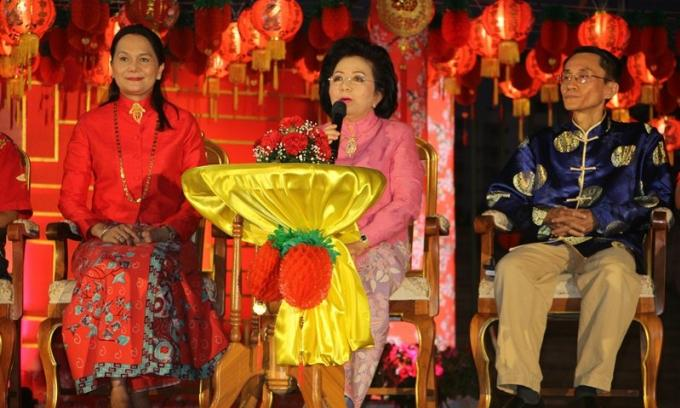 La maire annonce le programme du Old Town Chinese New Year