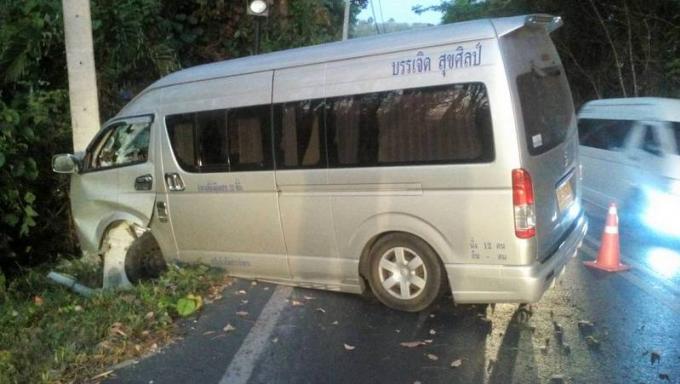 Des touristes chinois blessés dans un accident de van