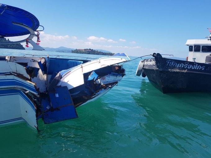 Collision de bateaux : Le capitaine inculpé, deux touristes chinois toujours hospitalisés