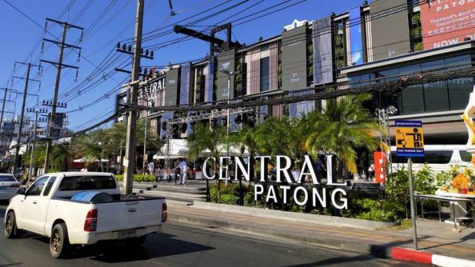 Ouverture de Central Patong