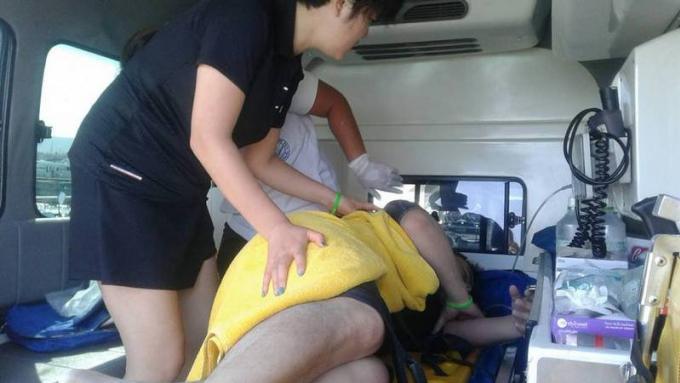 La police ouvre une enquête après l'incident de décompression d'un touriste chinois