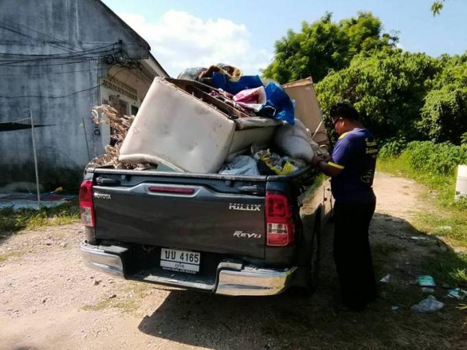 L'OrBorTor de Koh Kaew s'attaque aux dépôts sauvages d'ordures
