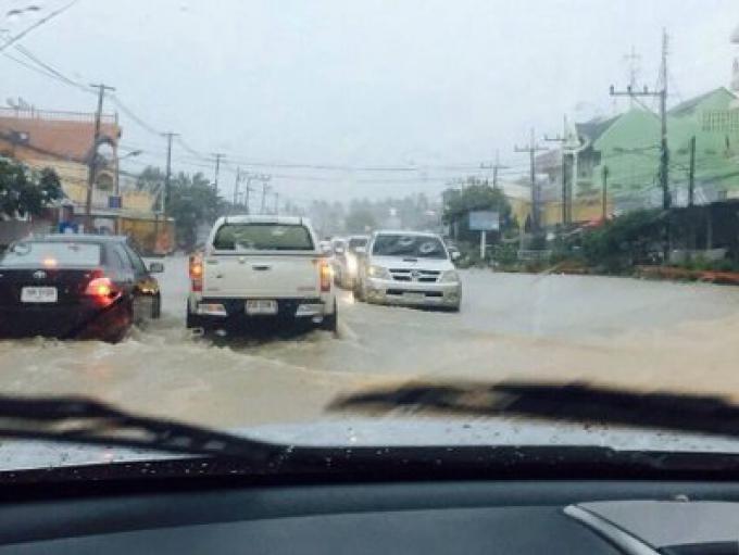 Il pleut à Phuket