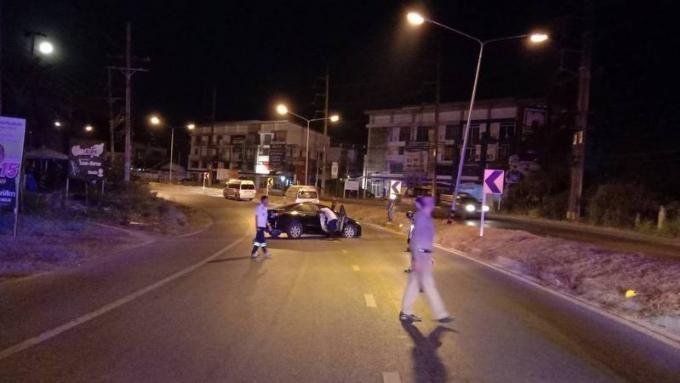 Le taxi reproche l'accident à une flaque d'huile