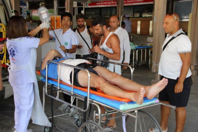 Des touristes italiens blessés par un éléphant dans un parc de Phang Nga
