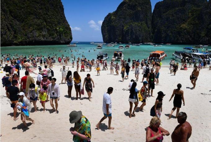 Maya Bay – La réouverture de 'The Beach' pas d'actualité