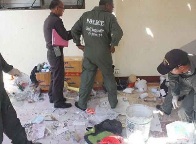 Une explosion blesse un étudiant à Chiang Mai