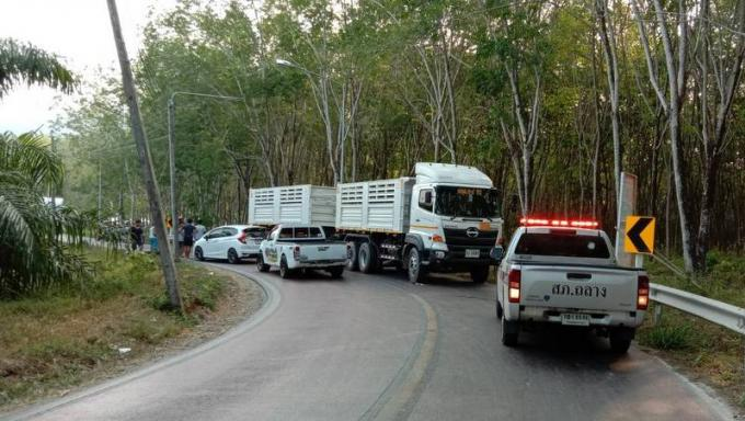 En une journée et sur la même route, deux camions 'interdits' renversent deux scooters