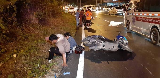 Une femme écrasée et deux blessés par un camion qui prend la fuite à Kata Hill