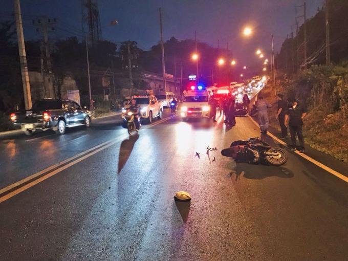 Le conducteur du camion se présente au poste de police après l'accident mortel de Kata Hill