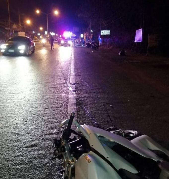 Accident mortel de Rawai : Le français en Ducati portait bien un casque