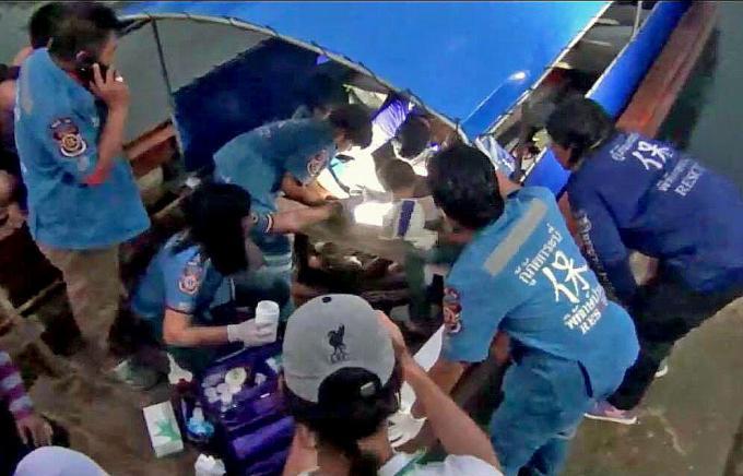 L'enquête sur l'explosion de la bombe du nid à Phang Nga se poursuit