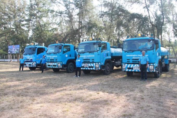 Livraison d'eau gratuite pour les habitants de Patong et Rassada