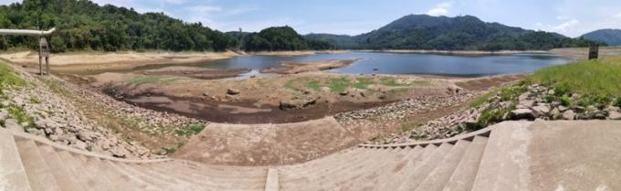 Les réservoirs de Phuket contiennent 33 jours d'eau