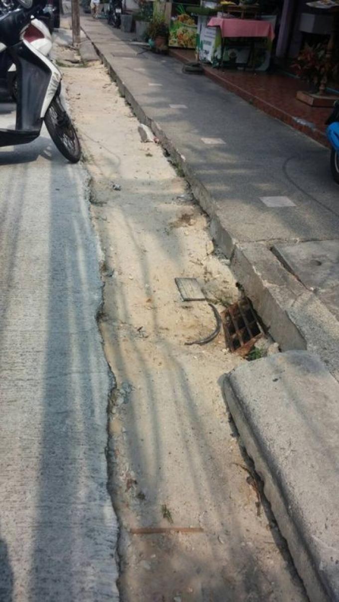 La réfection des chaussées de Phuket Town durera jusqu'en Octobre