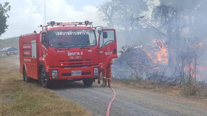 Un incendie maîtrisé au Cap Promthep