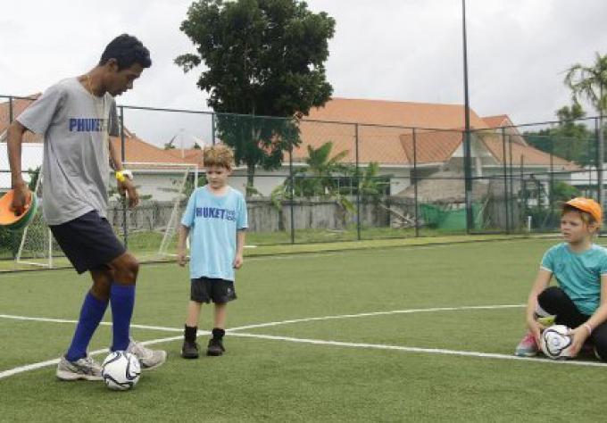 L'école de foot de Phuket se prépare pour l'académie de football, tournoi national