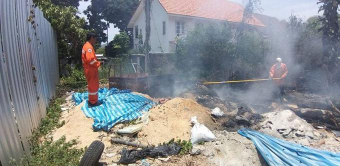 Deuxième incendie en trois jours à Rawai