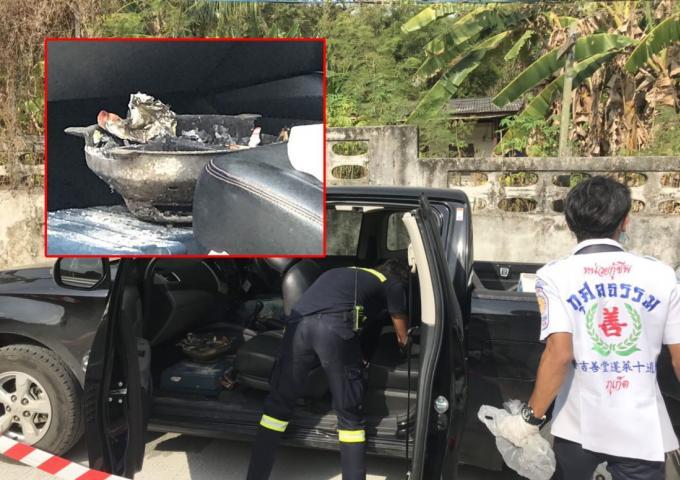 Un homme retrouvé mort dans son pickup avec un brûleur à charbon