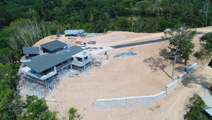 En construction dans une forêt protégée, la villa devra être démolie