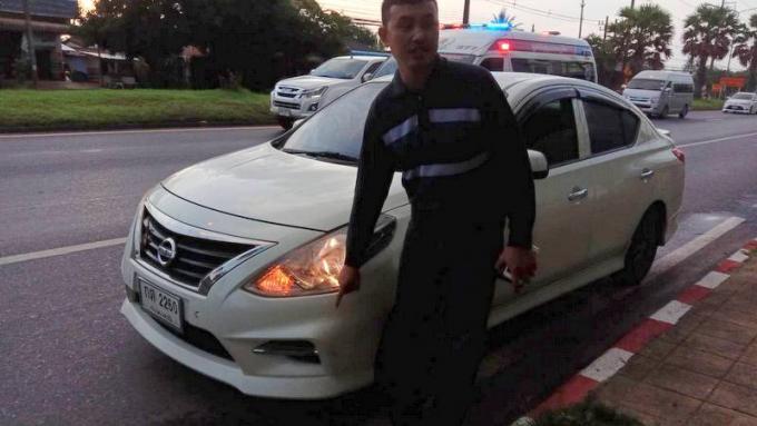 La police appelle à la prudence après qu'une voiture est renversé un cycliste italien