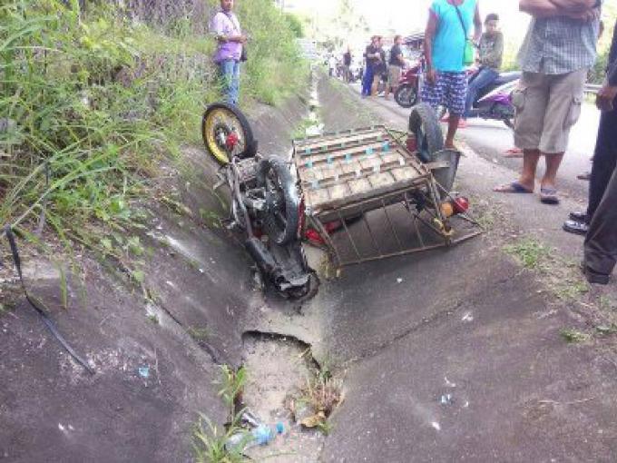Le conducteur de 71 ans d'un 'Saleng' tué dans un accident avec un 6 roues