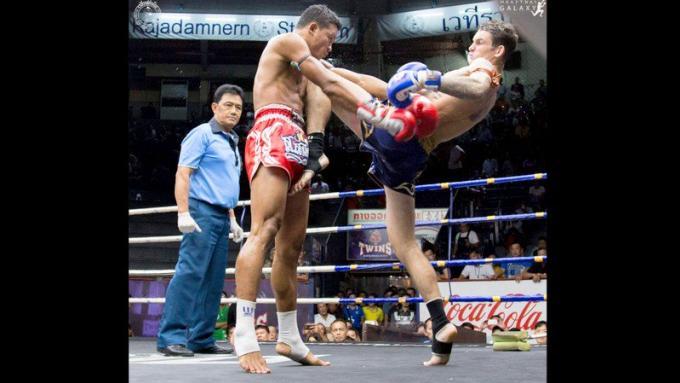 Un boxeur australien de Phuket va combattre pour le titre du Lumpinee