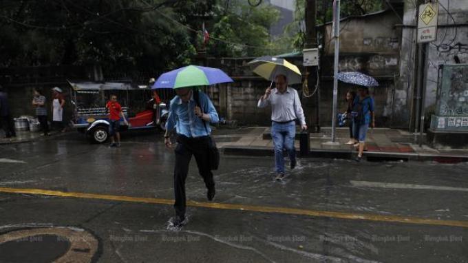 La saison des pluies commence officiellement aujourd'hui